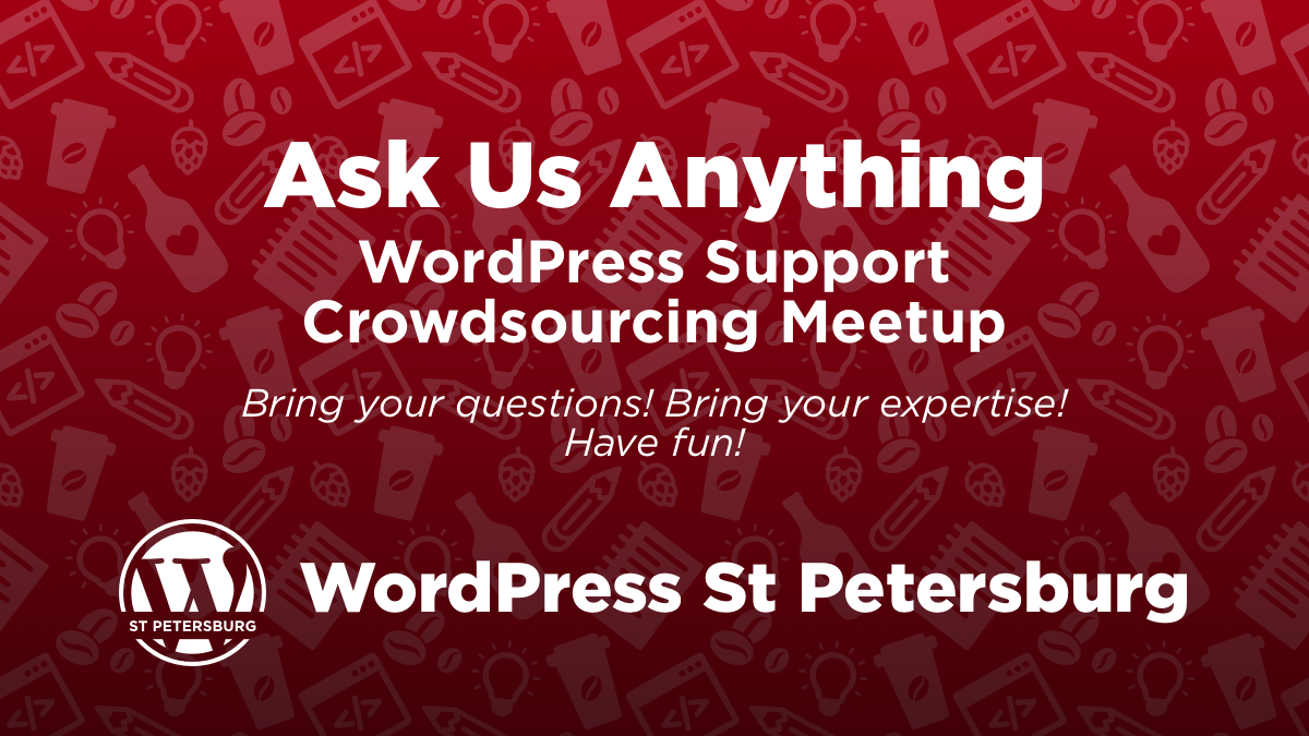Ask Us Anything Meetup Banner