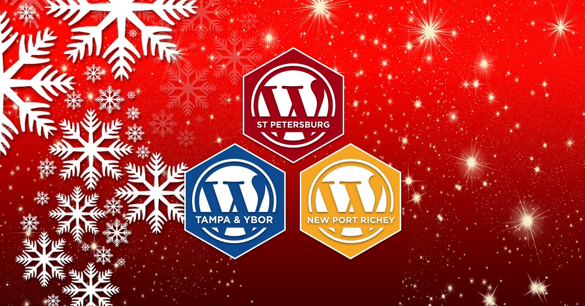 Happy Holiday from WordPress Tampa Bay